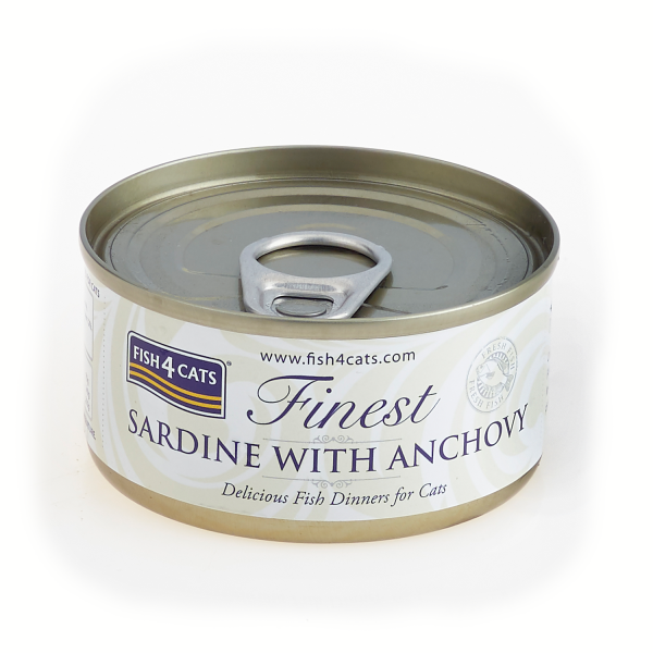 FINEST FISH4CATS SARDINE and ANCHOVY
