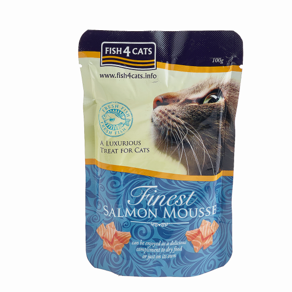 FINEST SALMON MOUSSE <br>for Cats