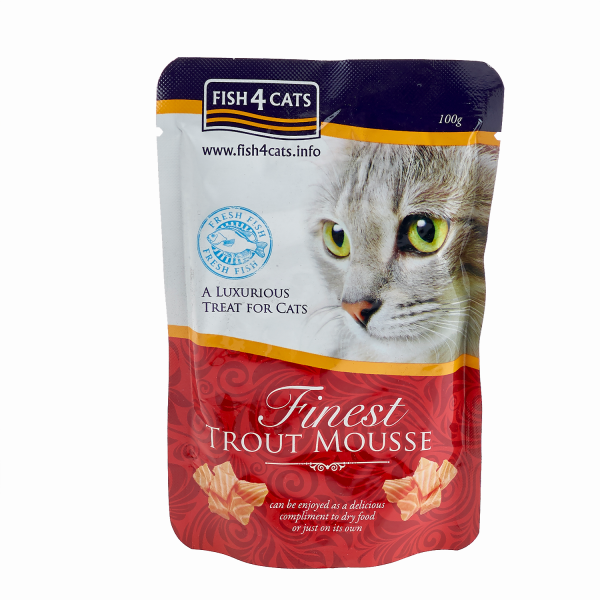 FINEST TROUT MOUSSE <br>for Cats