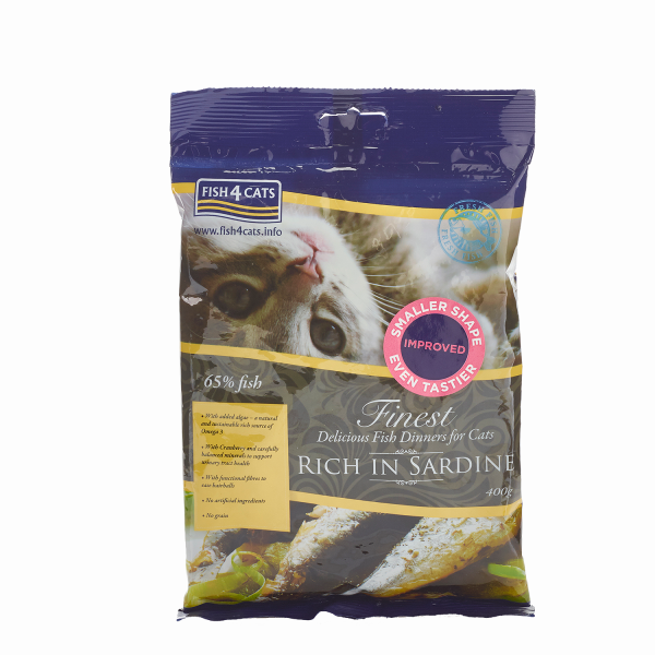 FINEST FISH4CATS<br>SARDINE