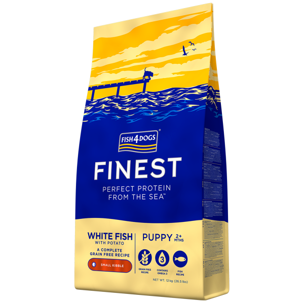 FINEST <br>WHITE FISH PUPPY