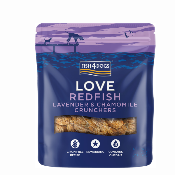 REDFISH LAVENDER & CHAMOMILLE CRUNCHERS