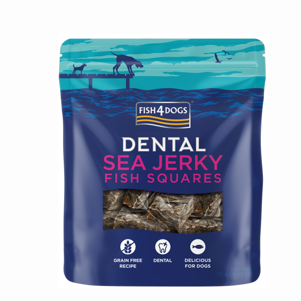 SEA JERKY <br>FISH SQUARES