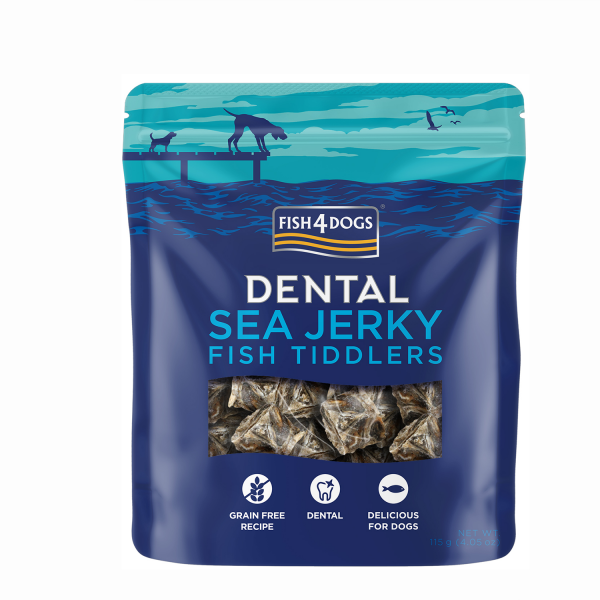 SEA JERKY <br>FISH TIDDLERS