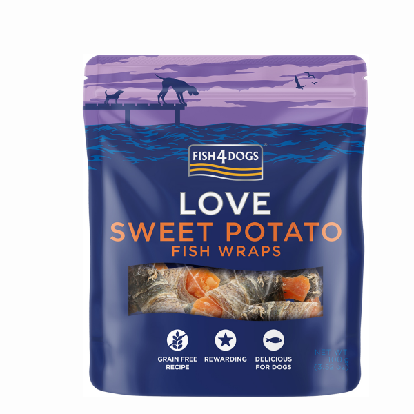 SWEET POTATO <br>FISH WRAPS